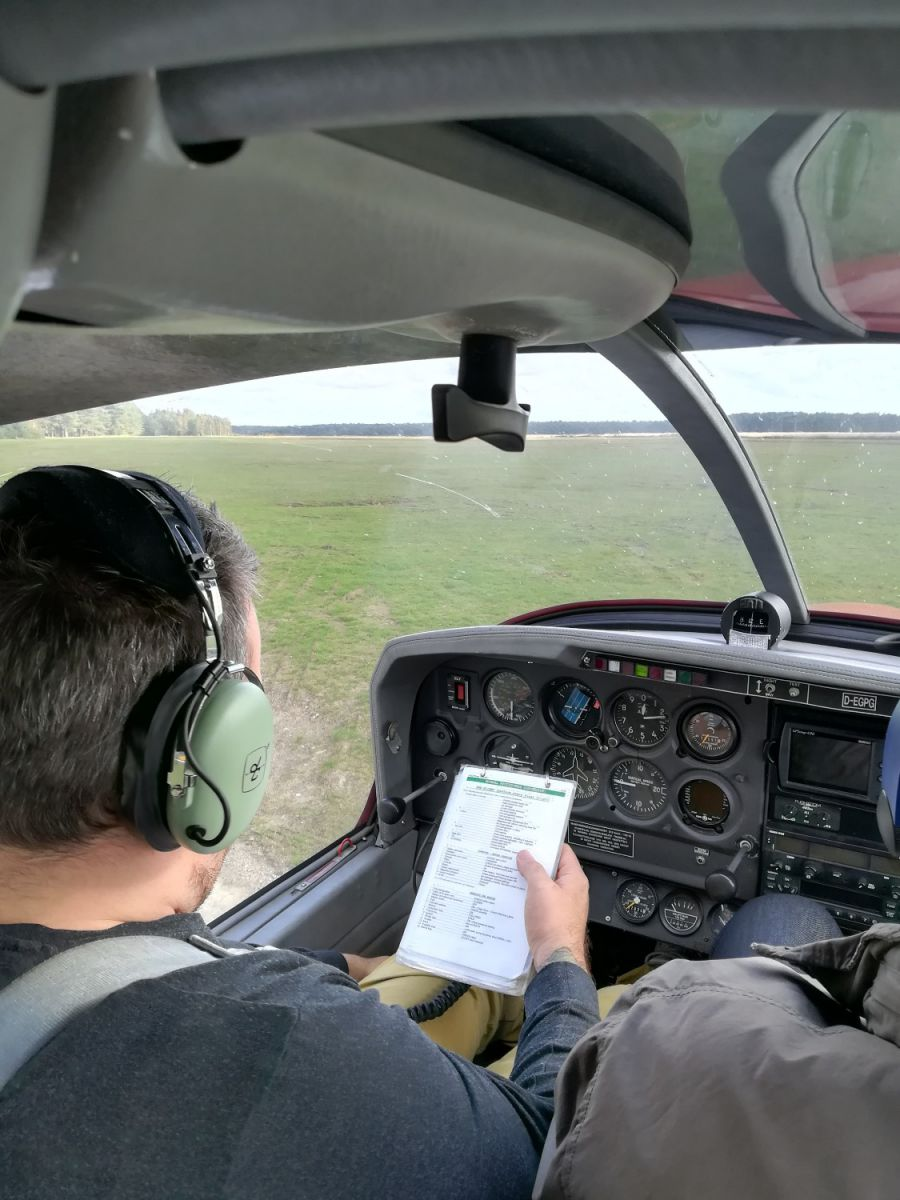 Flight training 1
