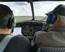 Flight training 5